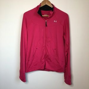Under Armour Form Semi Fitted Full Zip Jacket